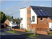 SO9096 : New housing in Sandringham Road, Penn, Wolverhampton by Roger  Kidd