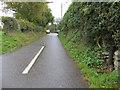 SJ2360 : Ffordd Pen y Bryn, Nercwys, and a village pump by John S Turner
