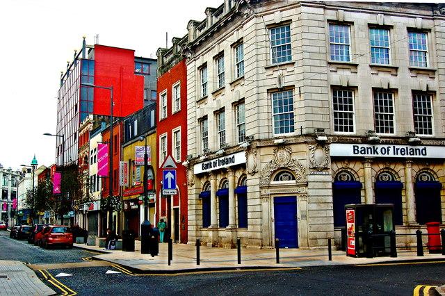 Derry 15 Strand Road Bank Of Ireland C Joseph