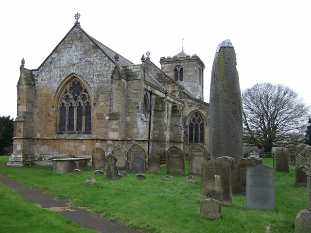 Rudston Monolith and All Saints Church