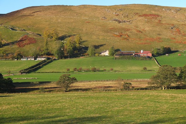 Woodhouse farm and hill, Manor Valley