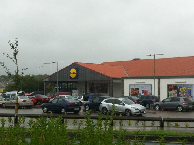 Lidl car park, Roscommon