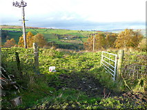 SE0023 : Gateway on Hebden Royd FPs 109 and 114 by Humphrey Bolton