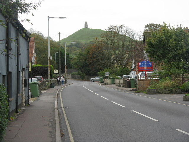 Looking towards the Tor