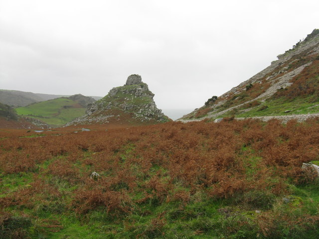 Castle Rock in the Valley of Rocks