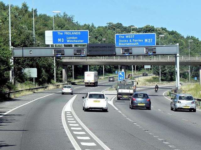 Chilworth Interchange (M27/M3)