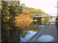 SO9286 : Autumn Bridge View by Gordon Griffiths