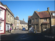 ST6834 : The library in Bruton  by Rod Allday