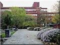 SJ8497 : Grosvenor Square and All Saints' Building (MMU) by David Dixon