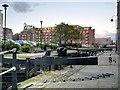 SJ8498 : Rochdale Canal, Dale Street Lock (#84) by David Dixon