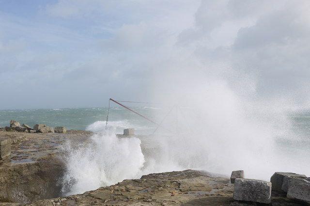 Blow hole by the Red Crane, Portland Bill