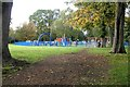 SP1392 : Play area, Pype Hayes Park by Robin Stott