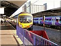 SJ8185 : Rail Terminus, Manchester Airport by David Dixon