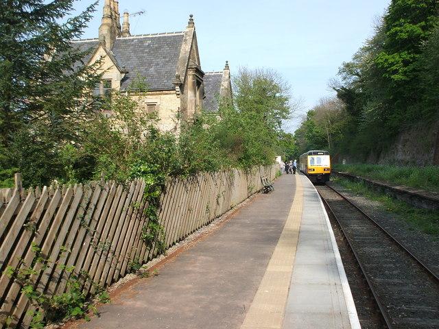 Wolsingham railway station, County Durham