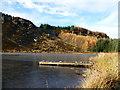 NN8845 : Jetty near the head of Loch na Craige by Alan O'Dowd