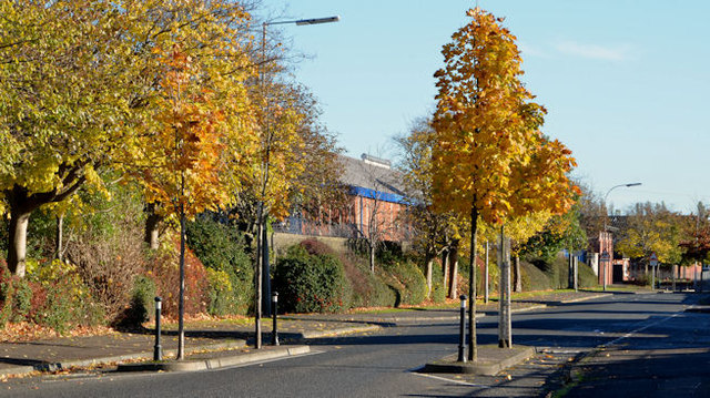 Traffic calming, Belfast