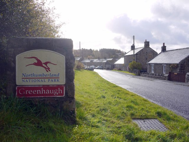 Northumberland National Park at Greenhaugh