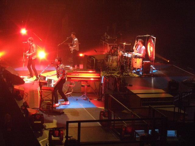 Keane - Nottingham Arena - February 2009