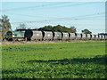SE5323 : Freightliner rolling stock near Sudforth Lane by Chris Allen