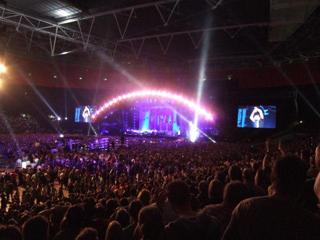 Coldplay - Wembley Stadium, London - September 2009