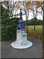 NO5969 : Colourful fountain by James Allan