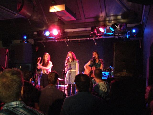 The Staves - The Bodega Club, Nottingham - September 2010