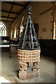 SP5872 : St.Margaret of Antioch's font by Richard Croft