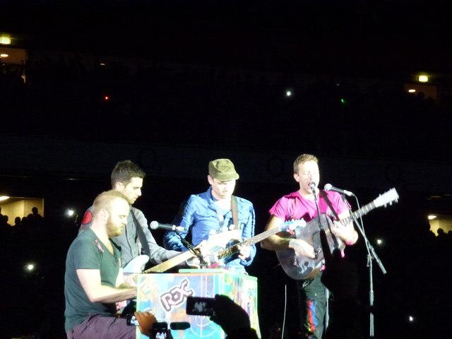 Coldplay - Emirates Stadium, London - June 2012