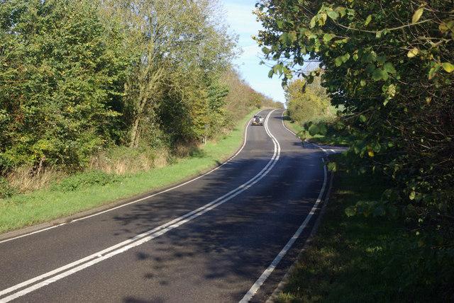 Fosse Way towards Princethorpe