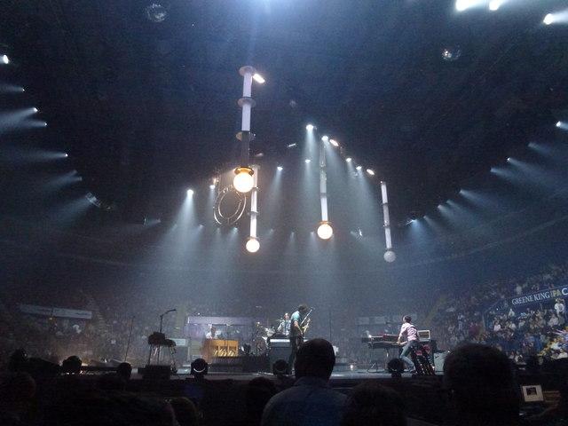 Keane - Nottingham Arena - November 2012