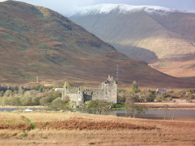 Kilchurn Castle at the head of Loch Awe