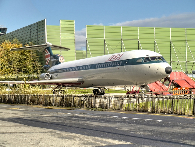 BEA Trident 3, Manchester Airport Runway Visitor Park