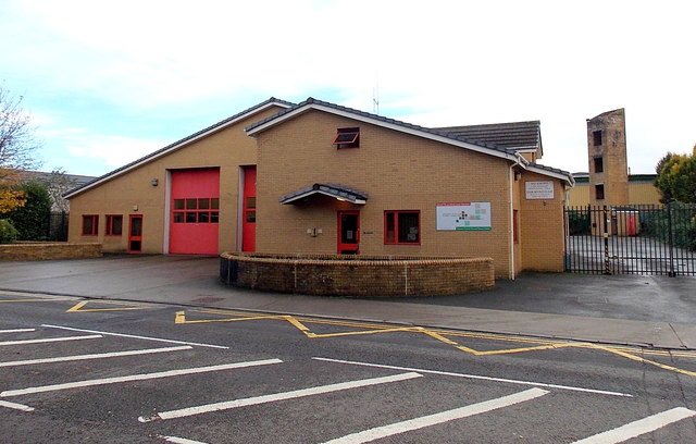 Swansea Central Fire Station © Jaggery :: Geograph Britain