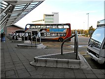 SJ8185 : Manchester Airport Bus Station by David Dixon