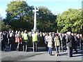 TQ4470 : Chislehurst War Memorial on Remembrance Sunday by Marathon