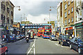 TQ2481 : Ladbroke Grove, approaching the station, 2002 by Ben Brooksbank