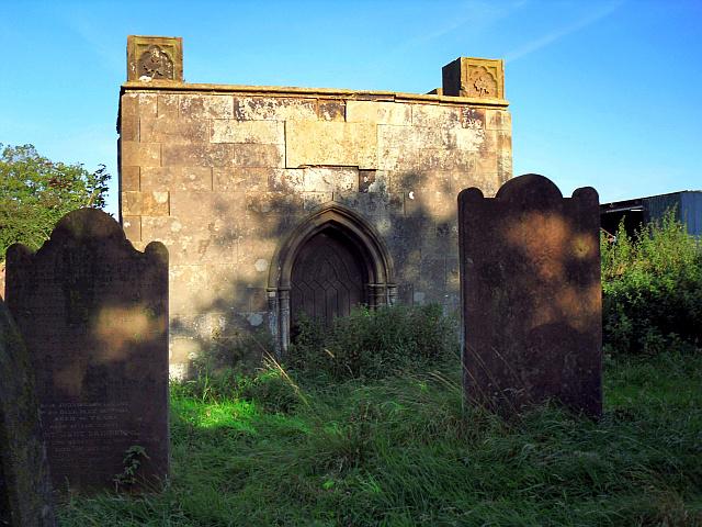 Parker family vault, High Hesket churchyard