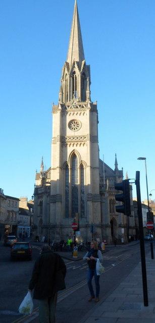Spire of St Michael's Church, Bath