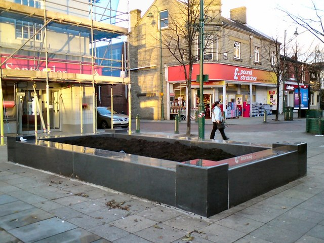 New Planter in the Market Place