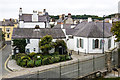 SH6076 : Green Cottages and Beaumaris Courthouse by Ian Capper