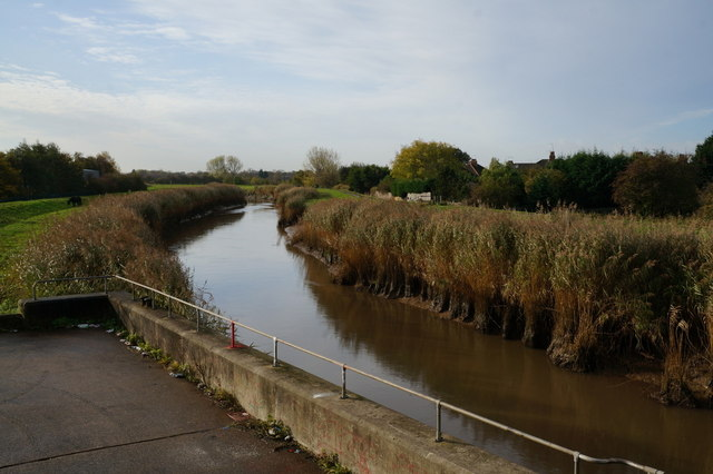 The River Hull from Sutton Road Bridge, Hull