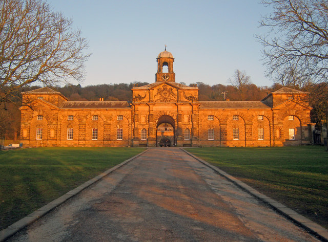 Chatsworth Stable Block