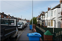 TA0832 : Silverdale Road off Beverley Road, Hull by Ian S