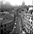 NZ2563 : Newcastle-upon-Tyne:  Side from the Tyne Bridge by Thomas M.N. Clifton