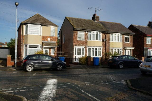 Houses on Strathmore Ave, Hull