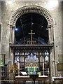 NZ2464 : St. Andrew's Church, Newgate Street, NE1 - Norman chancel arch by Mike Quinn