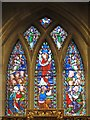NZ2464 : St. Andrew's Church, Newgate Street, NE1 - stained glass window, chancel by Mike Quinn