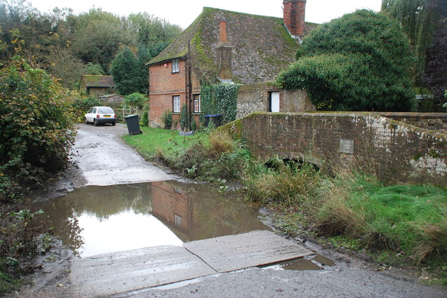 Ford on the Nail Bourne at Patrixbourne
