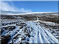 NH7507 : Track east of Beinn Bhreac by William Starkey
