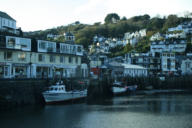Boats in East Looe